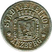 10 Pfennig - Arzberg – obverse