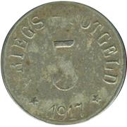 5 Pfennig - Arzberg – reverse