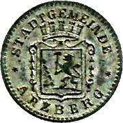 5 Pfennig - Arzberg – obverse