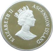 50 Pence - Elizabeth II (Queen Mother; Piedfort) – obverse