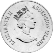 50 Pence - Elizabeth II (70th Birthday - Queen Elizabeth II) – obverse