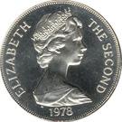 1 Crown - Elizabeth II (Coronation) – obverse