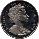 1 Crown - Elizabeth II (800th Anniversary of the Signing of the Magna Carta) – obverse