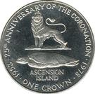 1 Crown - Elizabeth II (Coronation) – reverse