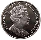 1 Crown - Elizabeth II (90th Birthday of Her Majesty Queen Elizabeth II) – obverse