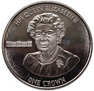 1 Crown - Elizabeth II (90th Birthday of Her Majesty Queen Elizabeth II) – reverse