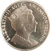 1 Crown - Elizabeth II (Sapphire Jubilee) – obverse