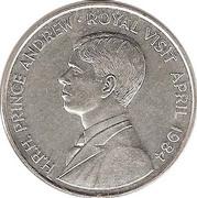 50 Pence - Elizabeth II (Royal Visit) – reverse