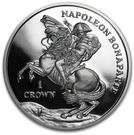 1 Crown - Elizabeth II (Napoleon Bonaparte) – reverse