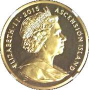 1 Crown - Elizabeth II (Napoleon Bonaparte - Gold) – obverse