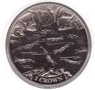 1 Crown - Elizabeth II (Shrimp) – reverse
