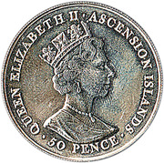 50 Pence - Elizabeth II (Queen Elizabeth II) – obverse
