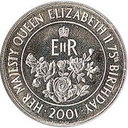 50 Pence - Elizabeth II (Queen Elizabeth II) – reverse
