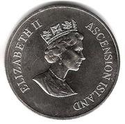 50 Pence - Elizabeth II (Frigate birds; Silver Proof Issue) – obverse