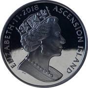 1 Crown - Elizabeth II (Sapphire Coronation) – obverse