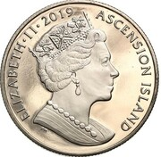 1 Crown - Elizabeth II (Baliste Royal) – obverse