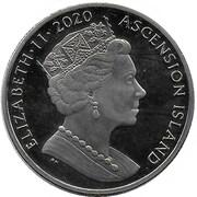 1 Crown - Elizabeth II (150th Anniversary of Charles Dickens) – obverse