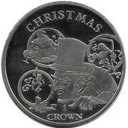 1 Crown - Elizabeth II (150th Anniversary of Charles Dickens) – reverse