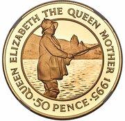 50 Pence - Elizabeth II – reverse