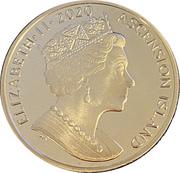 1 Crown - Elizabeth II (Christmas) – obverse