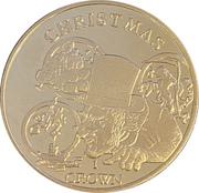 1 Crown - Elizabeth II (Christmas) – reverse