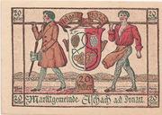 20 Heller ( Aschach a. d. Donau) – obverse