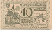 10 Heller (Aschbach) – obverse
