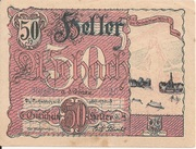 50 Heller (Aschach a. d. Donau) – obverse