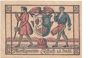 20 Heller (Aschach a. d. Donau) – obverse