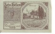10 Heller (Aschach a. d. Steyr) -  reverse