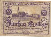 50 Heller (Aschach a. d. Steyr) -  obverse