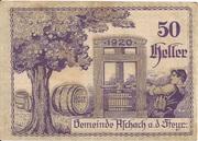 50 Heller (Aschach a. d. Steyr) -  reverse