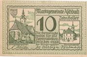 10 Heller (Aschbach) -  obverse