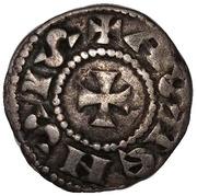 1 Denaro (1141-1220) – reverse