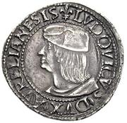 1 Testone - Ludovico XII d'Orléans – obverse