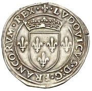 ½ Testone - Ludovico XII d'Orléans – obverse