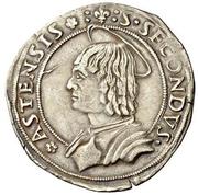½ Testone - Ludovico XII d'Orléans – reverse