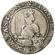 1 Testone - Francesco I – obverse