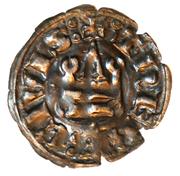 Denier Tournois - Guy II de La Roche (THEBE CIVIS) – reverse