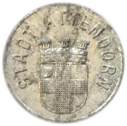10 Pfennig - Attendorn – obverse