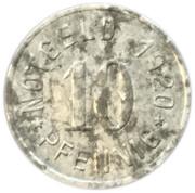 10 Pfennig - Attendorn – reverse