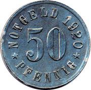 50 Pfennig - Attendorn – reverse
