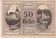 50 Heller (Attnang – Puchheim) -  obverse