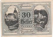 30 Heller (Attnang – Puchheim) -  obverse