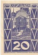 20 Heller (Atzbach) – obverse