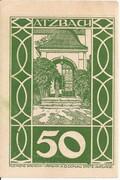 50 Heller (Atzbach) – obverse