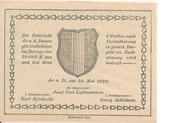 30 Heller (Au an der Donau) -  reverse