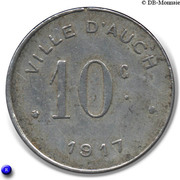 10 Centimes (Auch) – reverse