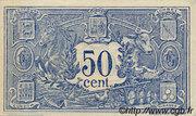 50 centimes - Chambre de Commerce d'Auch [32] – reverse