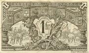 1 franc - Chambre de Commerce d'Auch [32] < sans filigrane> – reverse